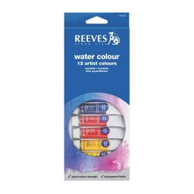 Tinta Aquarela Reeves - Water Colour 12ml com 12 cores
