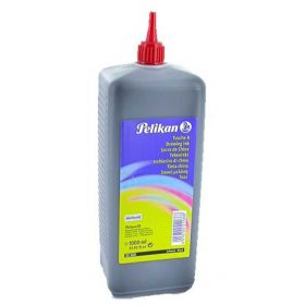 Tinta Black Drawing Ink - 1000ml - PELIKAN