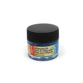 Tinta para Caligrafia SpeedBall 12ml - Azul Índigo 3102